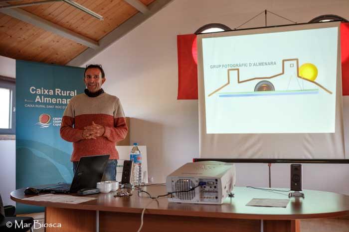 Jaume durante presentación