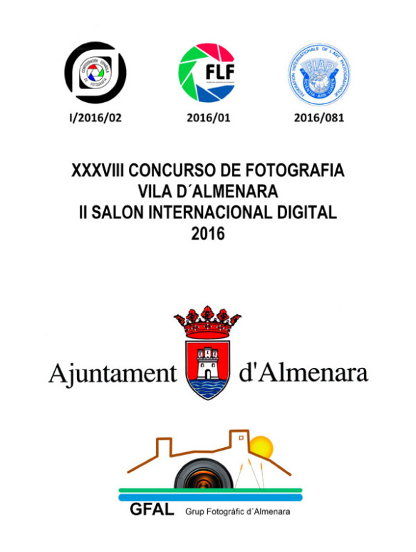 Cartel presentación Vila d´Almenara 2016