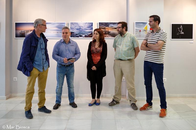 Julián Negredo, Santos Moreno, Inma Blaya, Álex García y César March