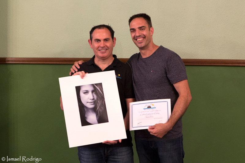 José Manuel Abarca y Carlos Correcher